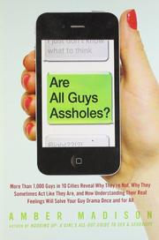 Cover art for ARE ALL GUYS ASSHOLES?