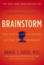 BRAINSTORM by Daniel J. Siegel