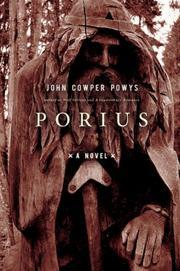 PORIUS by John Cowper Powys