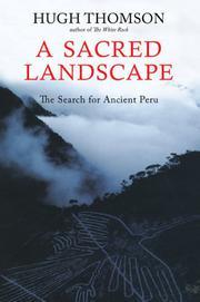 A SACRED LANDSCAPE by Hugh Thomson