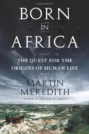 Cover art for BORN IN AFRICA