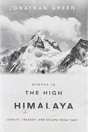 Cover art for MURDER IN THE HIGH HIMALAYA
