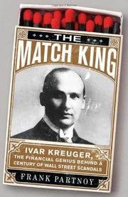 Book Cover for THE MATCH KING