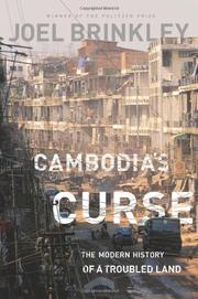 Cover art for CAMBODIA'S CURSE