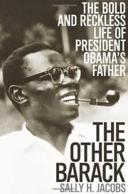 Cover art for THE OTHER BARACK