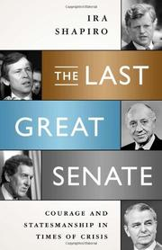 Book Cover for THE LAST GREAT SENATE