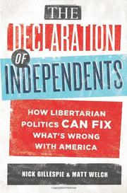 Cover art for THE DECLARATION OF INDEPENDENTS