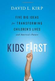 Book Cover for KIDS FIRST