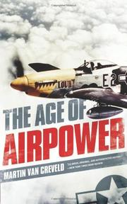 THE AGE OF AIRPOWER by Martin van Creveld
