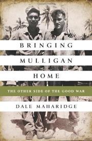 BRINGING MULLIGAN HOME by Dale Maharidge