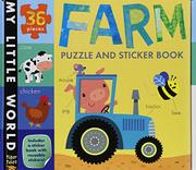 FARM PUZZLE AND STICKER BOOK by Tiger Tales