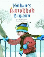 NATHAN'S HANUKKAH BARGAIN by Jacqueline Dembar Greene