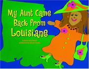 Cover art for MY AUNT CAME BACK FROM LOUISIANE