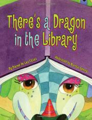 Cover art for THERE'S A DRAGON IN THE LIBRARY
