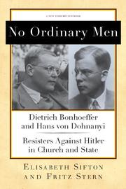NO ORDINARY MEN by Fritz Stern