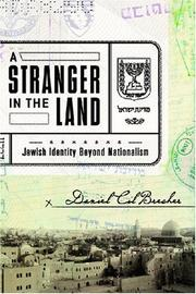 Cover art for A STRANGER IN THE LAND