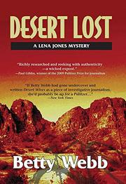 Cover art for DESERT LOST