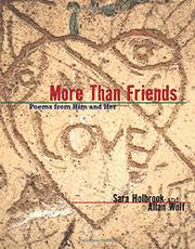 MORE THAN FRIENDS by Sara Holbrook