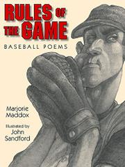 RULES OF THE GAME by Marjorie Maddox