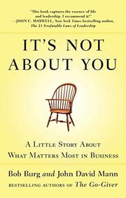 Book Cover for IT'S NOT ABOUT YOU