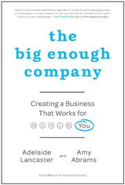 Cover art for THE BIG ENOUGH COMPANY