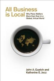 Cover art for ALL BUSINESS IS LOCAL