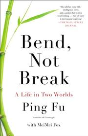 Cover art for BEND, NOT BREAK