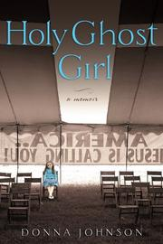 Cover art for HOLY GHOST GIRL