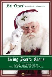 Book Cover for BEING SANTA CLAUS