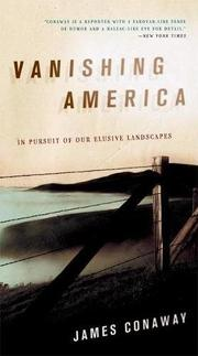Cover art for VANISHING AMERICA