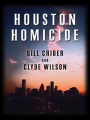 Cover art for HOUSTON HOMICIDE
