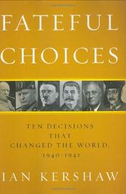 Cover art for FATEFUL CHOICES