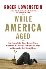 Book Cover for WHILE AMERICA AGED