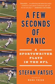 A FEW SECONDS OF PANIC by Stefan Fatsis