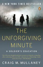 Cover art for THE UNFORGIVING MINUTE