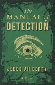 Cover art for THE MANUAL OF DETECTION
