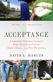 ACCEPTANCE by David L.  Marcus