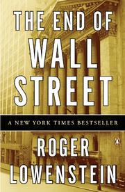 Cover art for THE END OF WALL STREET