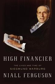 Book Cover for HIGH FINANCIER