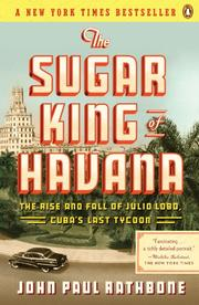 Cover art for THE SUGAR KING OF HAVANA