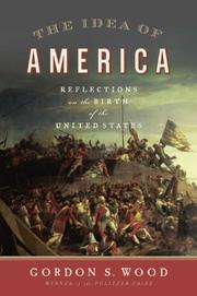 Cover art for THE IDEA OF AMERICA