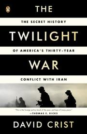 Cover art for THE TWILIGHT WAR
