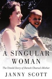 Cover art for A SINGULAR WOMAN