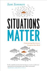 Book Cover for SITUATIONS MATTER