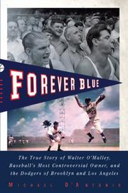 Book Cover for FOREVER BLUE