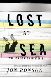 Book Cover for LOST AT SEA