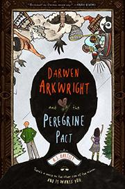 Cover art for DARWEN ARKWRIGHT AND THE PEREGRINE PACT