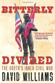 BITTERLY DIVIDED by David Williams