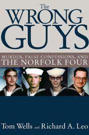 THE WRONG GUYS by Tom Wells