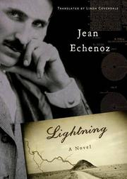 LIGHTNING by Jean Echenoz